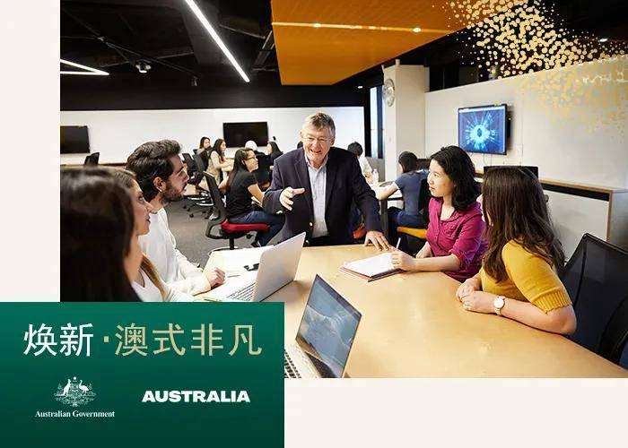 收下这张地图,留学澳大利亚不用愁!