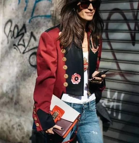 长外套穿腻了,今天我们重新来讲讲短外套的街头时尚魅力