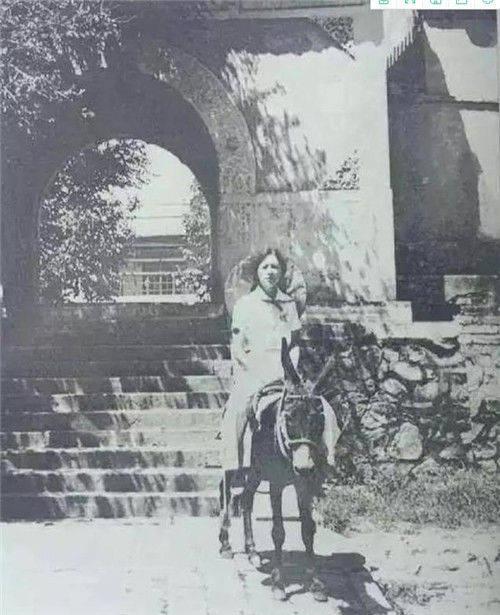 民国稀有旧照:林徽因骑着毛驴兜风,图5的日本女子美的令人窒息