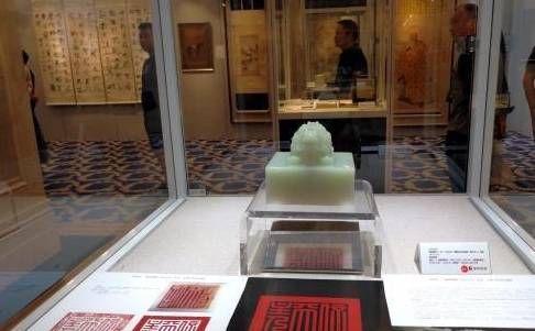 最大金额的乾隆白宇玉溪出现在北京保利