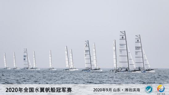 连办三年国家级帆船赛事 潍坊滨海开启运动发展新篇章