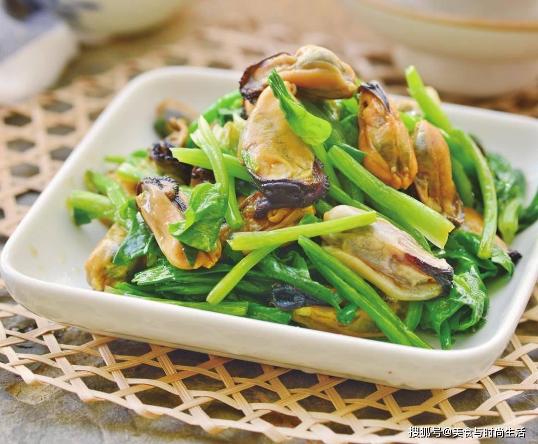 菠菜和这种海鲜一起凉拌,清爽鲜美,开胃解腻,过节宴客下酒必备