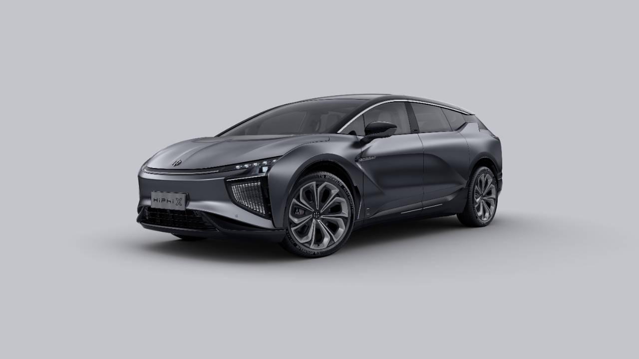 价格80万!划时代的智能电动车高河HiPhi X创始版破晓推出