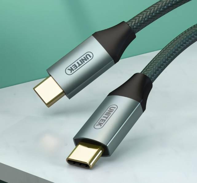 100W快充+10Gbps快传+4K高清投屏,一条线搞定N种Type-c数码设备!