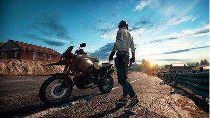 绝地求生摩托车