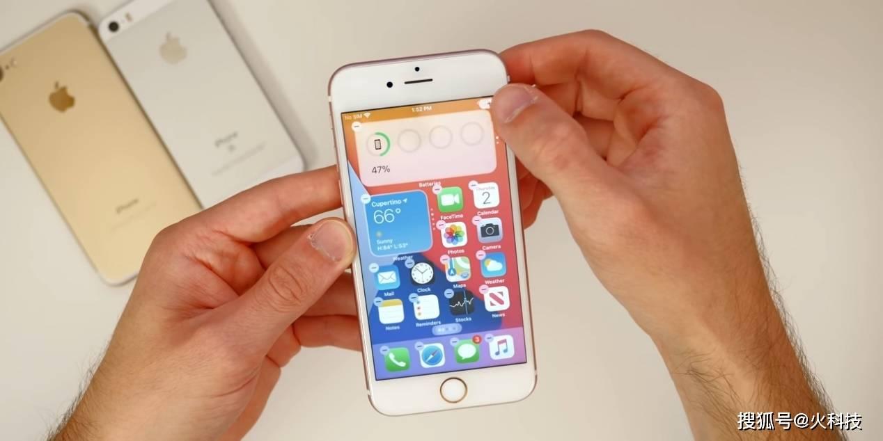 周末把5年前的iPhone 6s升级到iOS14,换了新手机一样!