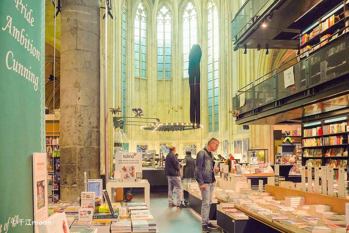 这个由教堂改成的书店是世界上最美的书店!