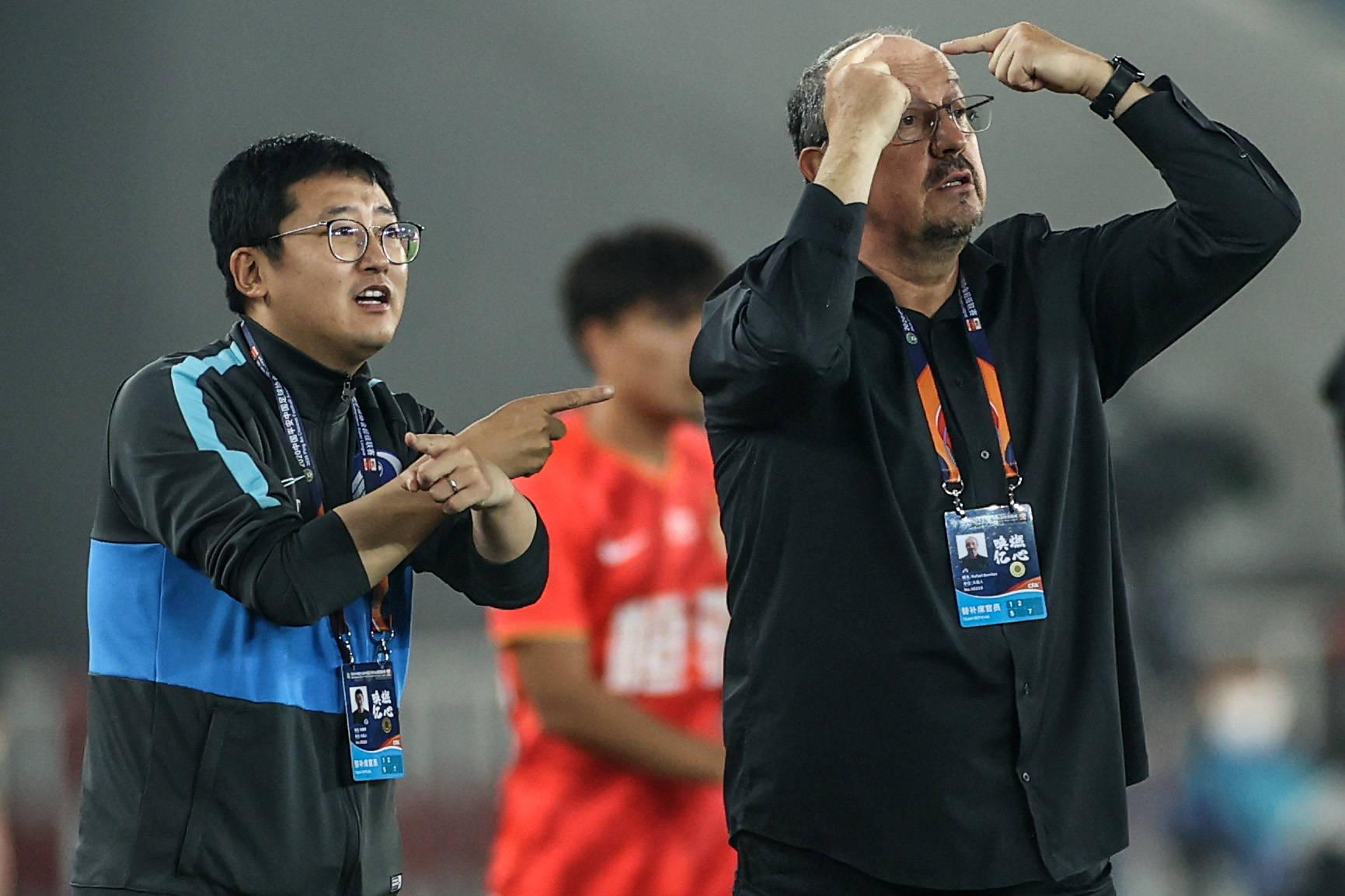 专访贝尼特斯:中国球员球商低 我在做一