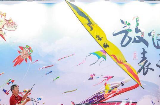 赏各色风筝看高手过招 中国风筝协会再次亮相体博会