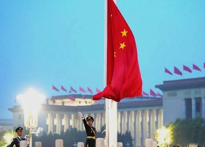 新中国成立七十一周年,天安门广场升旗仪式,最爱当属那抹中国红