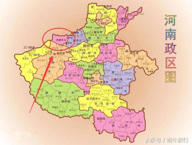 河南省的一个特殊的大都市 曾经是夏朝的