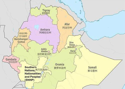 埃塞俄比亚是如何从沿海国家变成内陆国