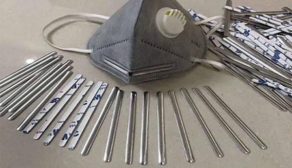 医用口罩鼻梁环保铝带 全力支持全球抗疫