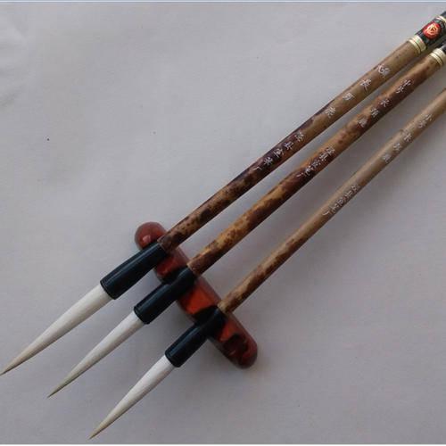 学习书法 书法用具2:毛笔的名称