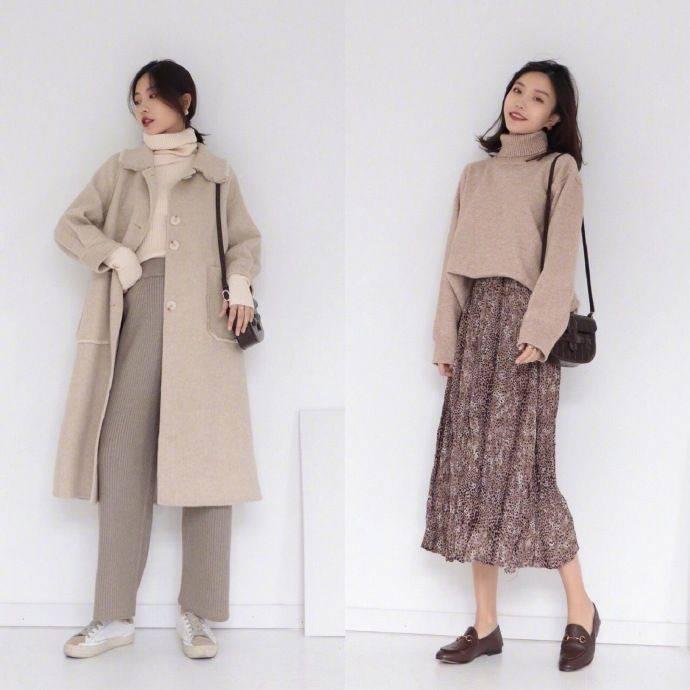 不知道秋冬怎么换季?学会穿这18韩风 颜