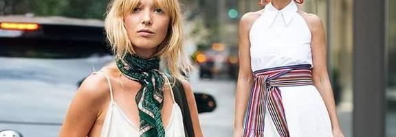 春夏衣服总是穿不出时尚感?那是因为你缺了一条丝巾!