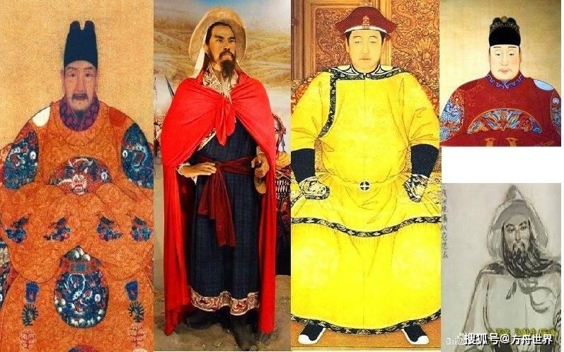 张的三位明朝国王决定了明朝和清朝最后的胜利和失败