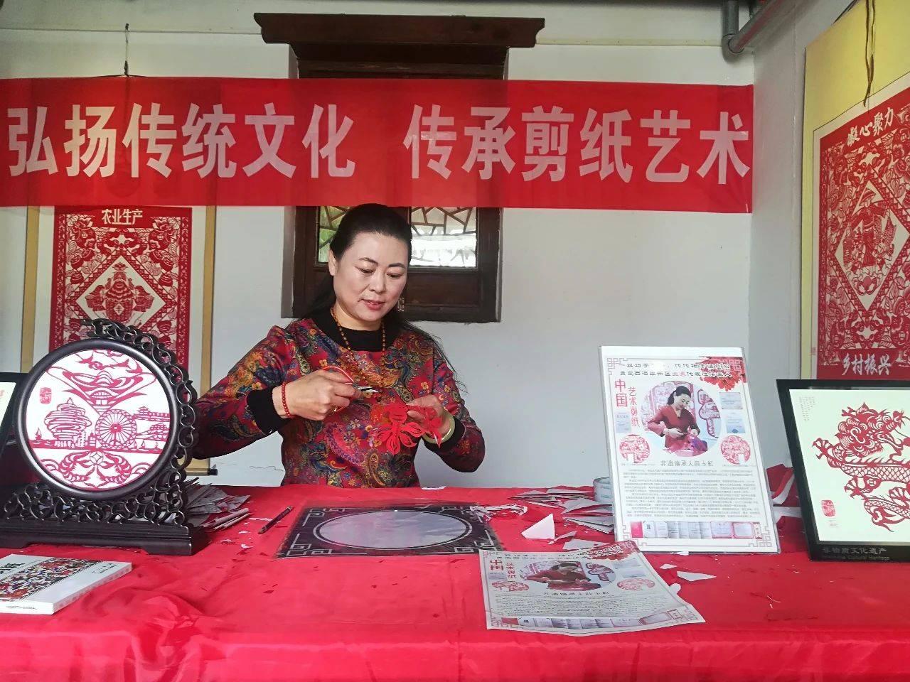 青岛有个剪纸工匠 用一双巧手诠释中国梦!