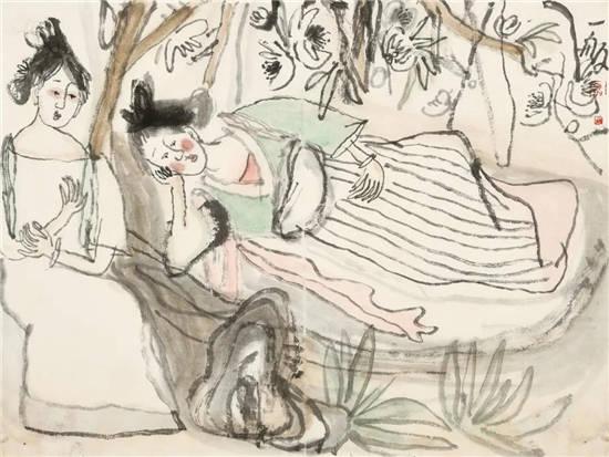 又见菩提树――一舨书画作品展