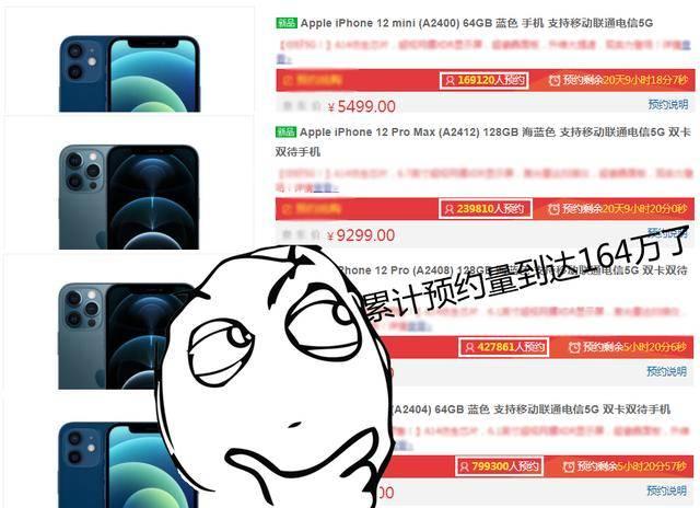 iPhone12预约量一天增长60万,史上最值得买的苹果?
