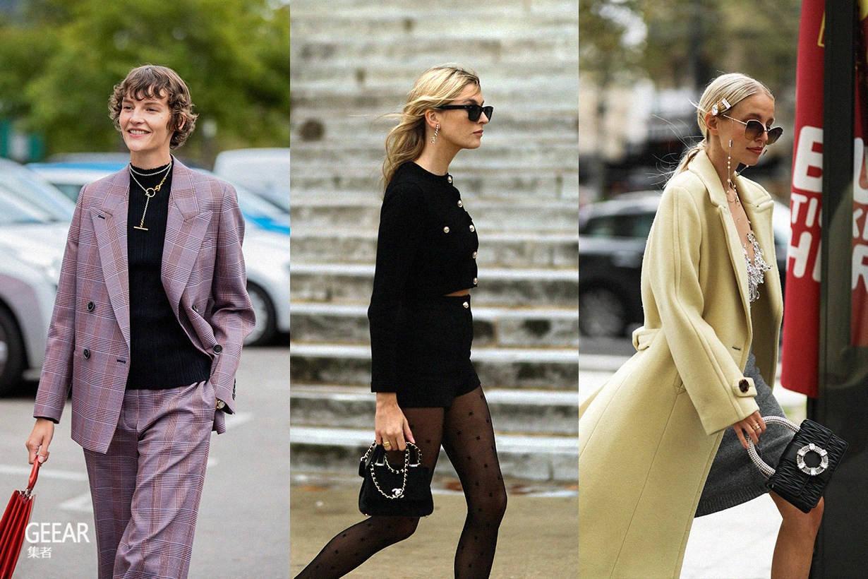赏遍巴黎时尚街拍,发现女生今季最爱的包包是它!