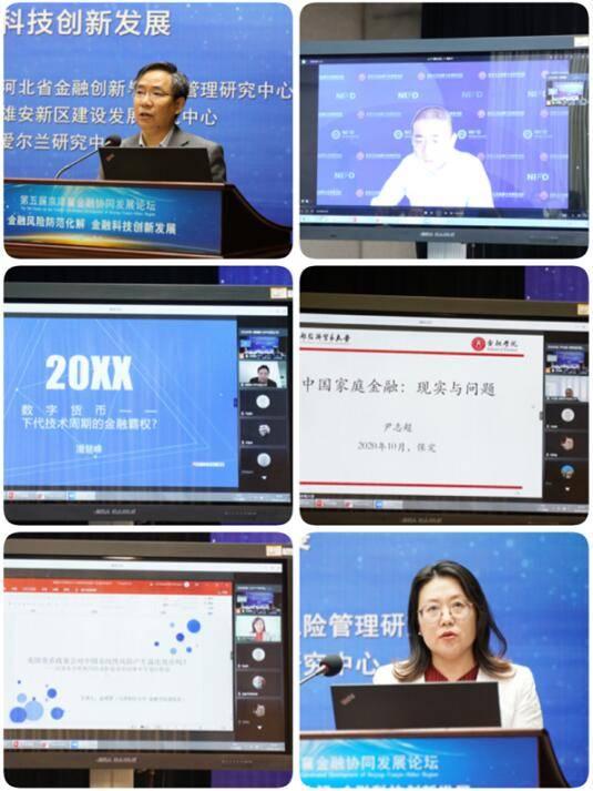 第五届京津冀金融协同增长论坛在河北金融学院