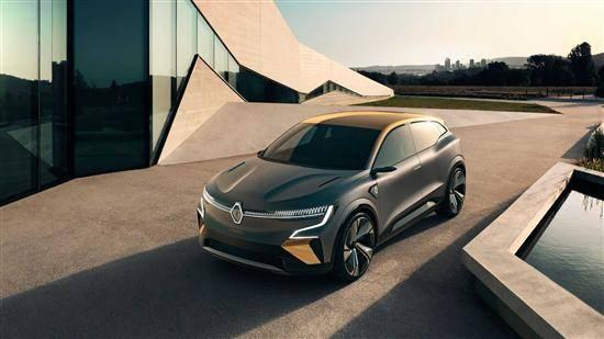 原雷诺Megane概念车官方地图发布,新车生产版将于2021年发布