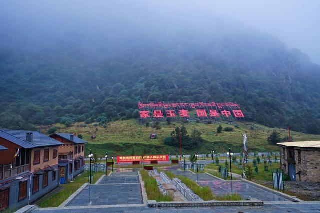 西藏自驾游第4站:祖国边陲玉麦乡,3个人守住2000平方公里国土