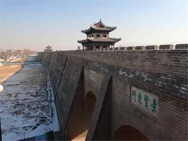 山西长达两千年的古城,不逊色于平遥古城,因汉高祖刘邦而得名