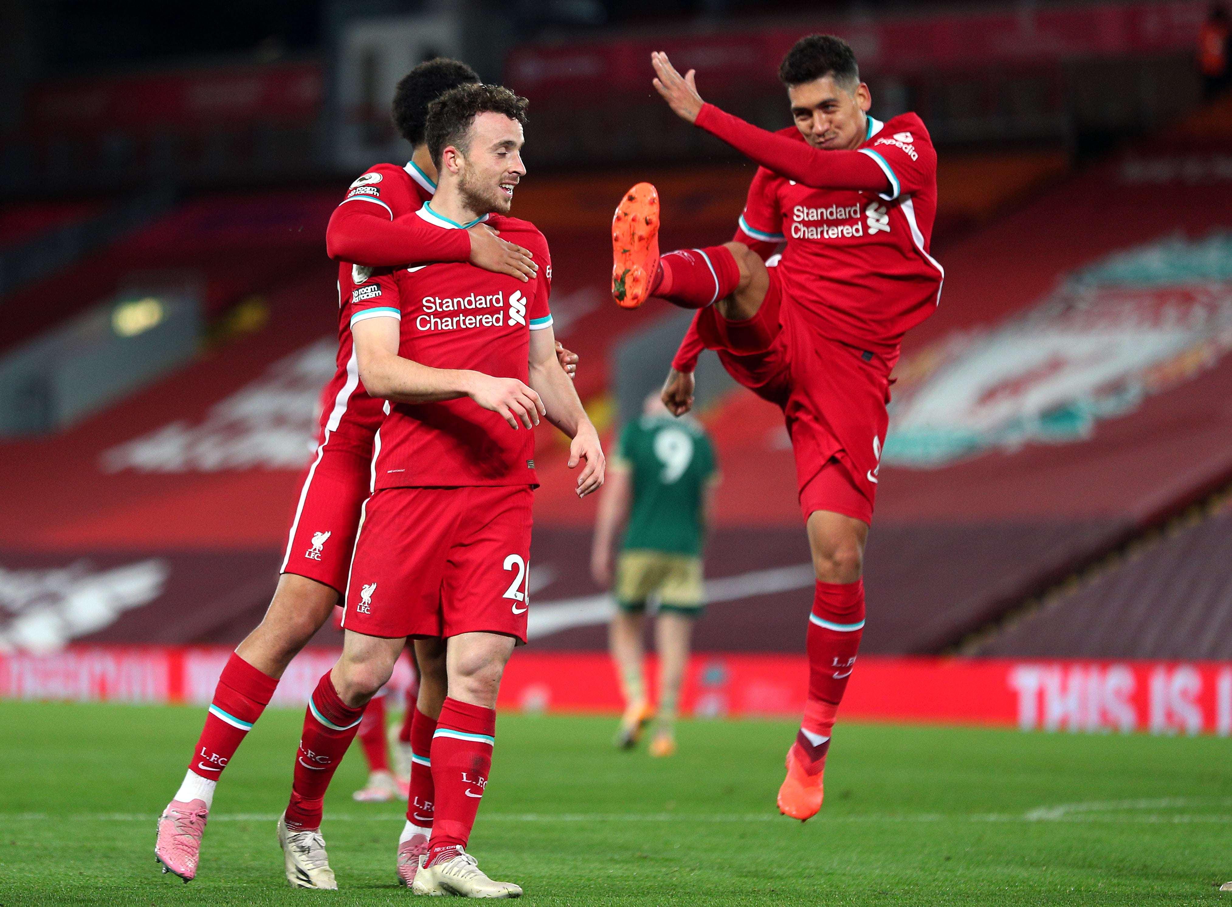 英超-法比尼奥送点菲米若塔救主 利物浦2-1逆转