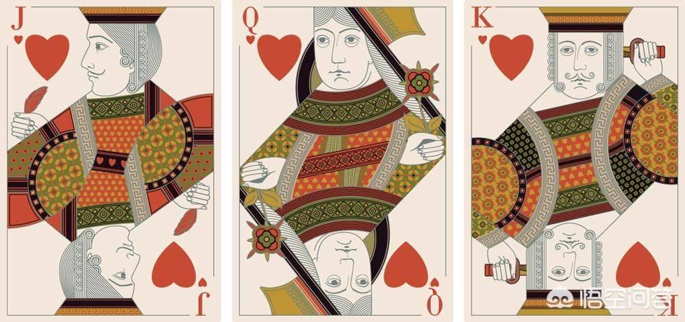 扑克牌中红桃K代表的是什么人?