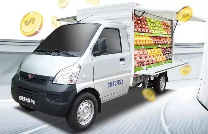 载人卖货是正确的,武陵双排小卡在走向繁荣的道路上是不错的选择