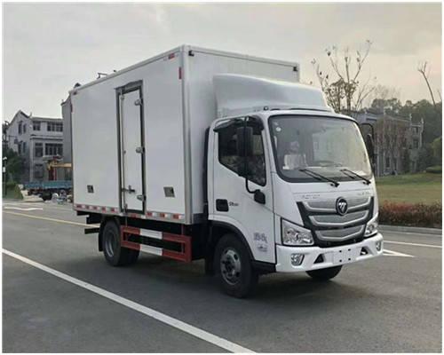 刘国福田欧玛S1,奥运贝尔快递运单排和半冷藏车