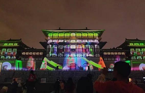 洛阳应天门3D灯光秀,又出新内容了,大家来看看吧