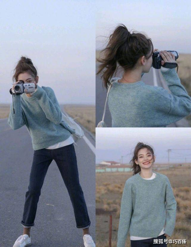 原创             从小穿到大的毛衣,无法穿出时髦感?3种穿法让你想不时髦都难