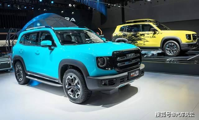 城市SUV带2锁,哈弗大狗2.0T四驱版预售价格16.19万