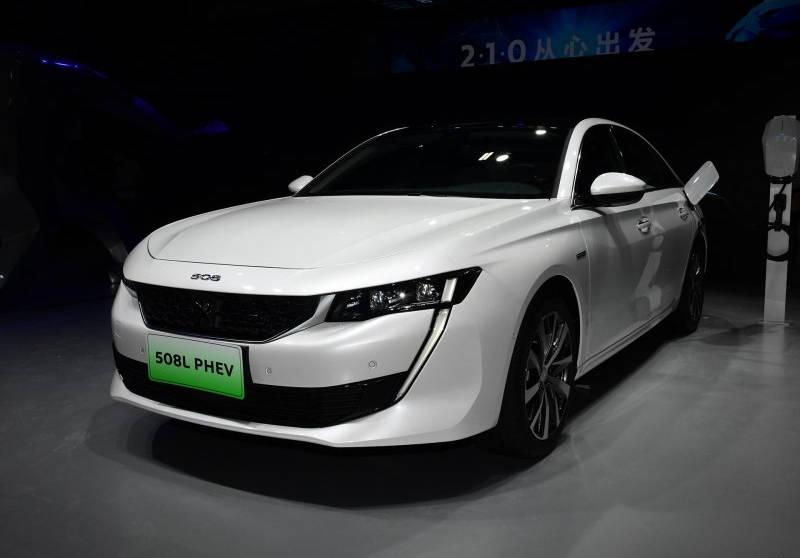 2020广州车展:标致508L PHEV售21.57万起