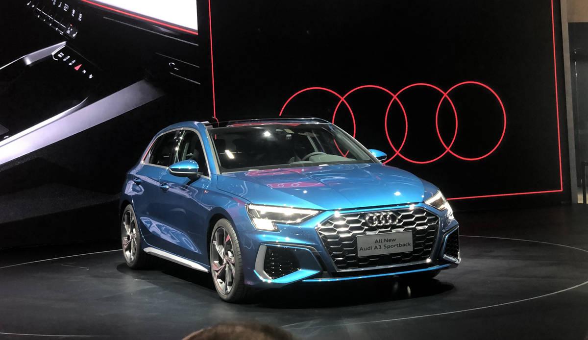 2020广州车展:全新一代奥迪A3预售21万起