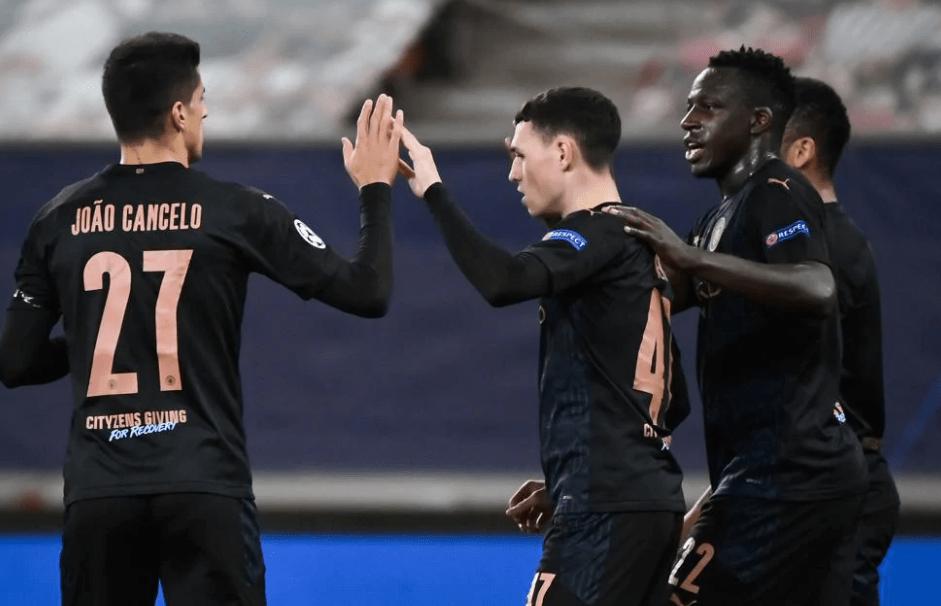 欧冠-斯特林助攻福登破门曼城1-0提早两轮出线