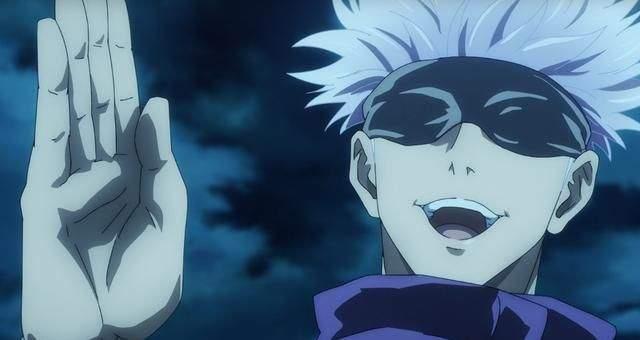 少年漫改新番《咒术回战》战斗力超强的五条悟 摘下眼罩后令人大跌眼镜