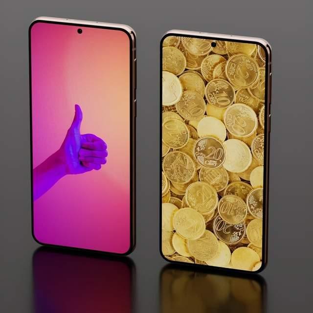 三星Galaxy S21渲染图曝光:有点像iPhone 12!