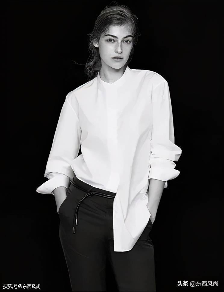 2020秋冬胶囊系列,简约黑白灰蓝,极简美学风格