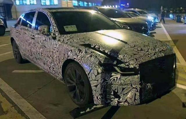 新款捷豹XFL路试间谍照片曝光:当老板的首选车型,外观稳定,动力十足!