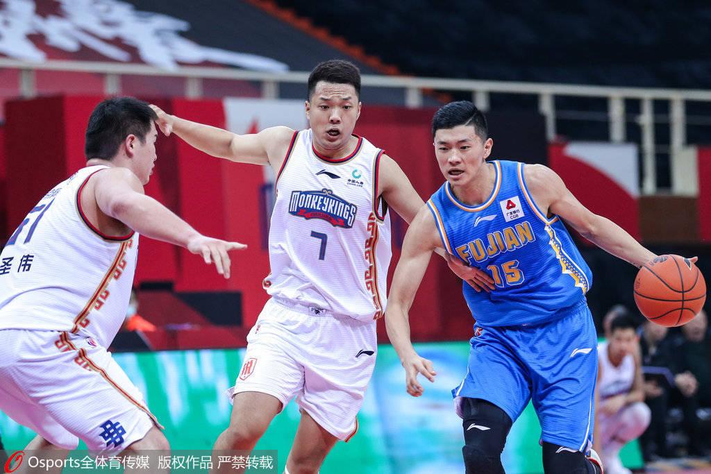 2020-21赛季CBA常规赛第二十四轮同曦男篮对阵福建男篮