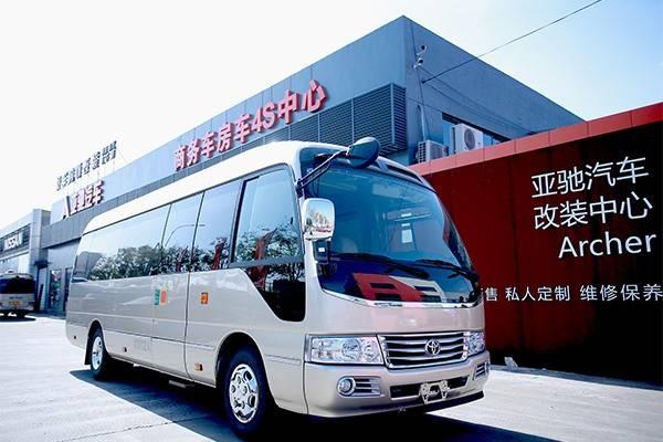 原装丰田考斯特长宁销售改装的16座现有汽车
