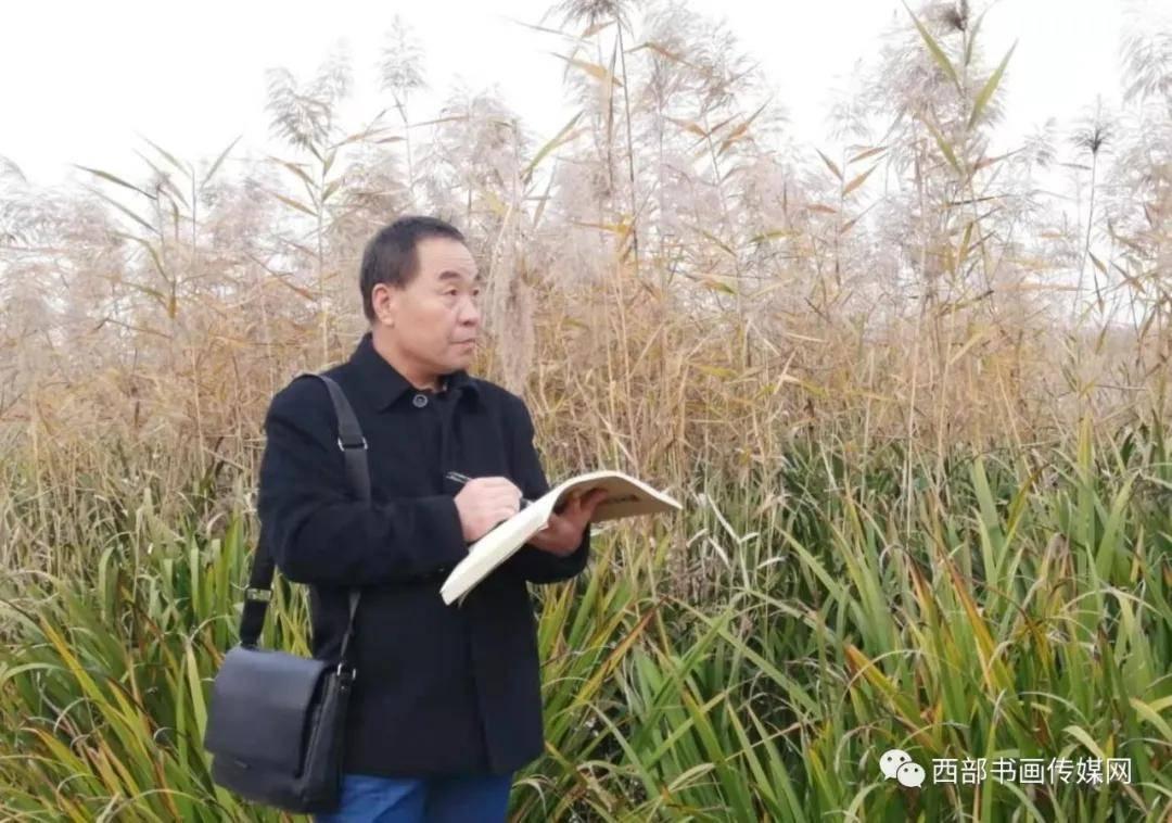 画家李润民草原作品赏析