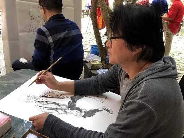 著名画家海丝行采风活动暨作品展举行_文化
