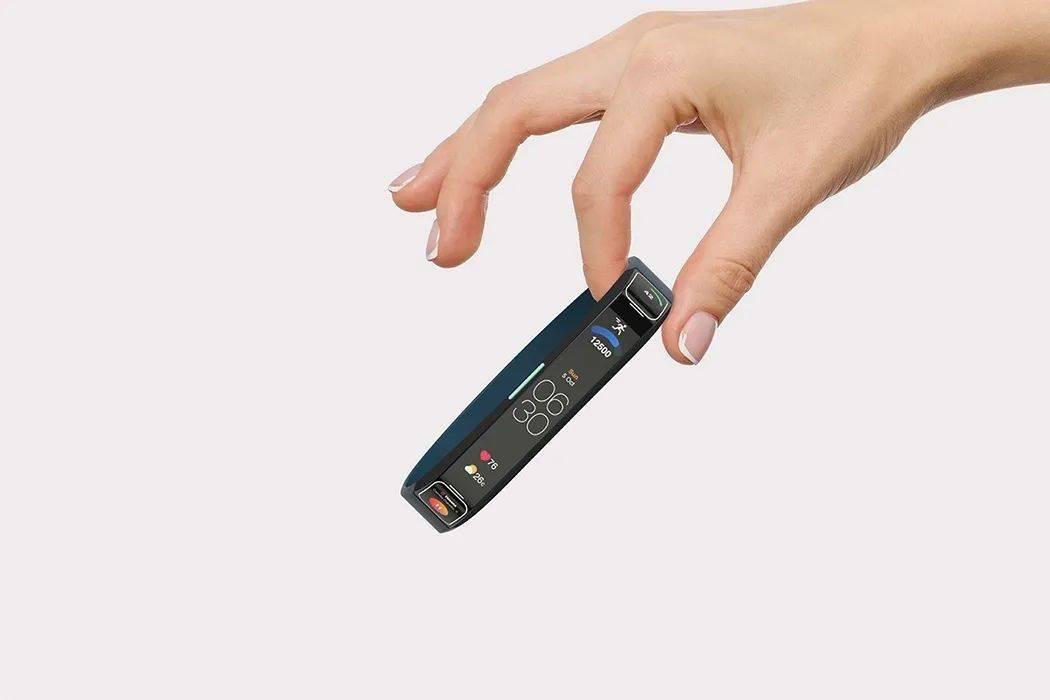 带滚动屏幕的智能手表