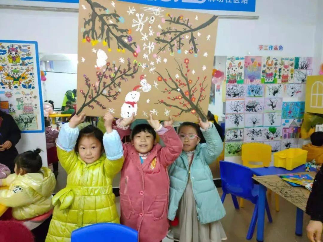湖北孝昌壹基金牌坊社区儿童服务站:一张纸板的故事