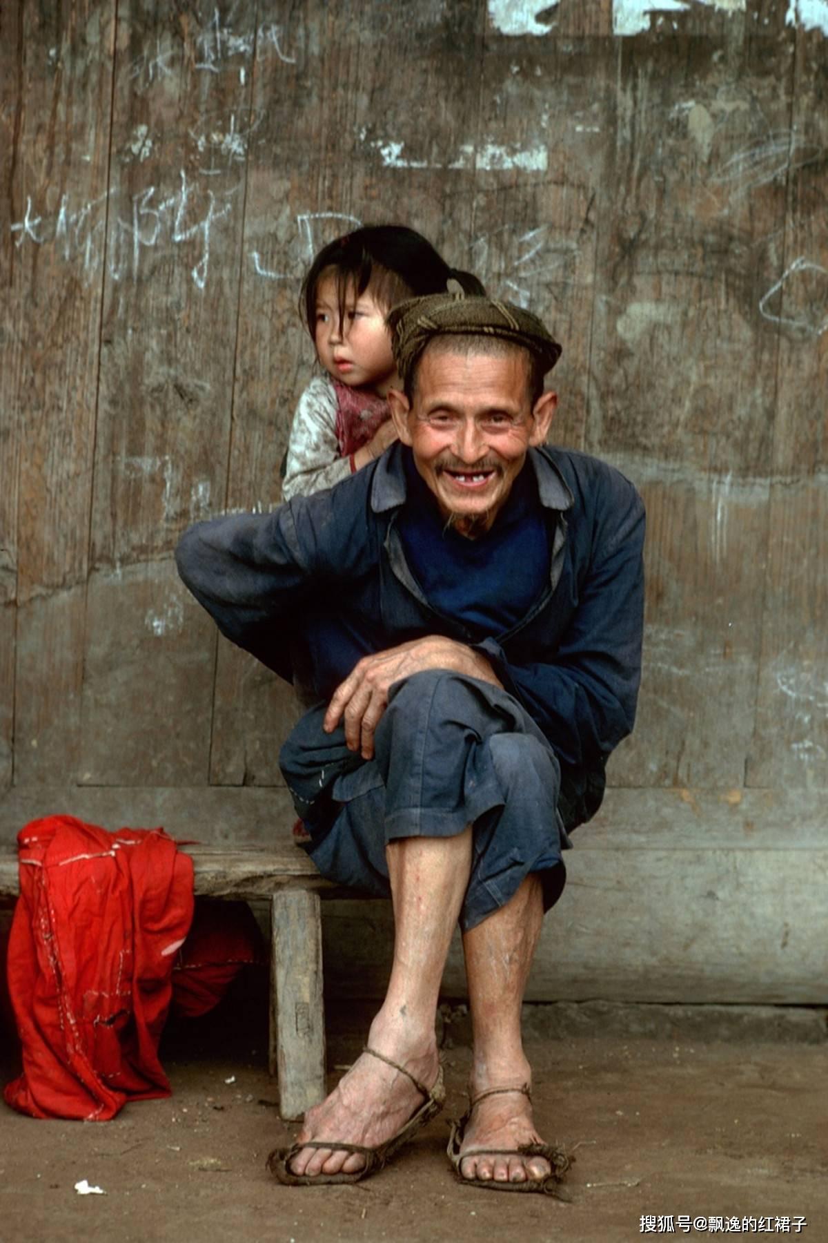 老照片:外国人拍摄的1981年的四川峨眉山,好想回去那个年代